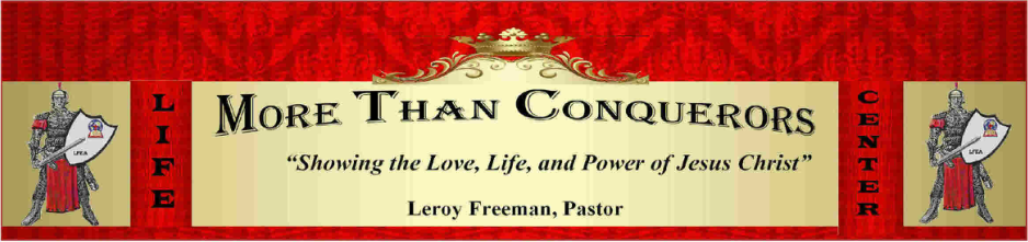 More Than Conquerors Life Center